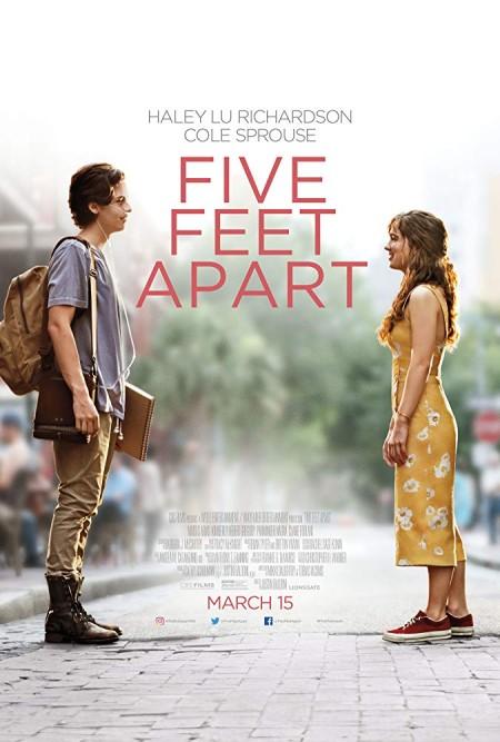 Five Feet Apart (2019) 720p HQ HDCAM 900MB 1xbet x264-BONSAI