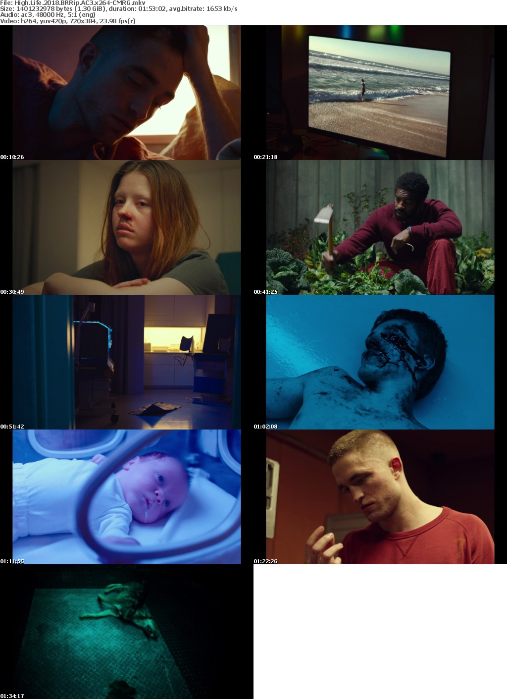 High Life (2018) BRRip AC3 x264-CMRG