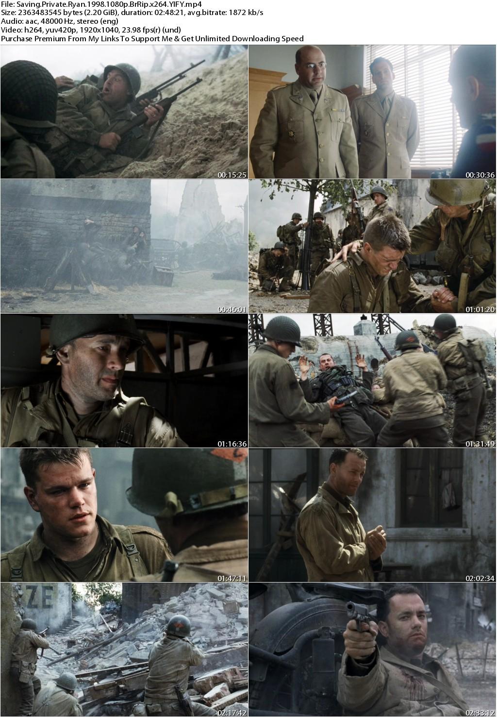 Saving Private Ryan (1998) 1080p BrRip x264 YIFY