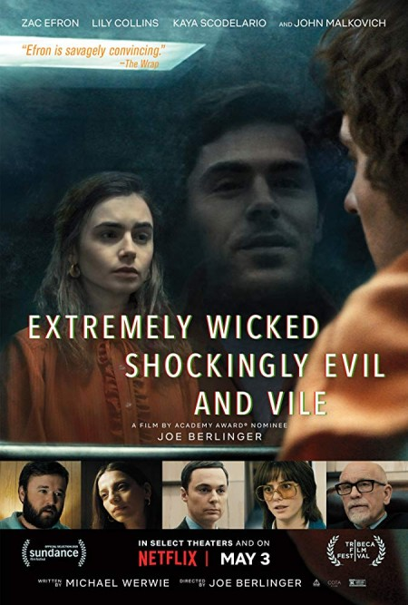 Extremely Wicked, Shockingly Evil, and Vile 2019 720p WEB-DL x264 900MB MSubs - MkvHub