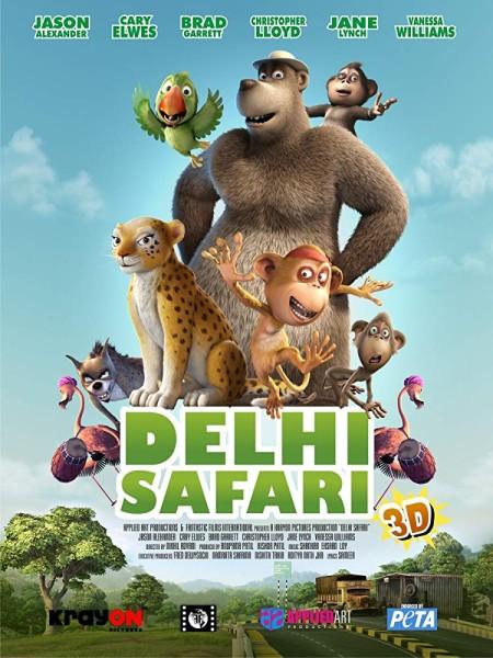 Delhi Safari 2012 BRRip XviD MP3-XVID