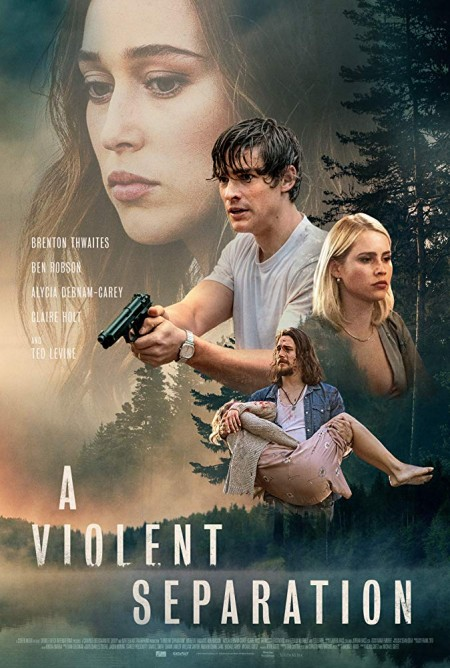 A Violent Separation (2019) HDRip AC3 X264  CMRG