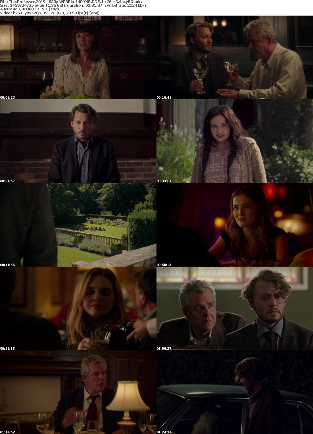 The Professor 2019 1080p WEBRip 1400MB DD5 1 x264-GalaxyRG