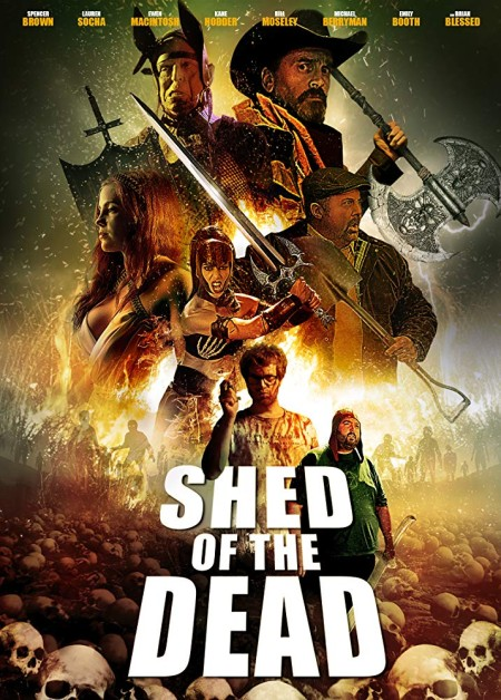 Shed Of The Dead 2019 720p BluRay 800MB x264-GalaxyRG