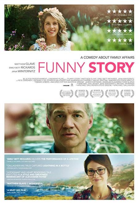 Funny Story 2018 HDRip XviD AC3-EVO