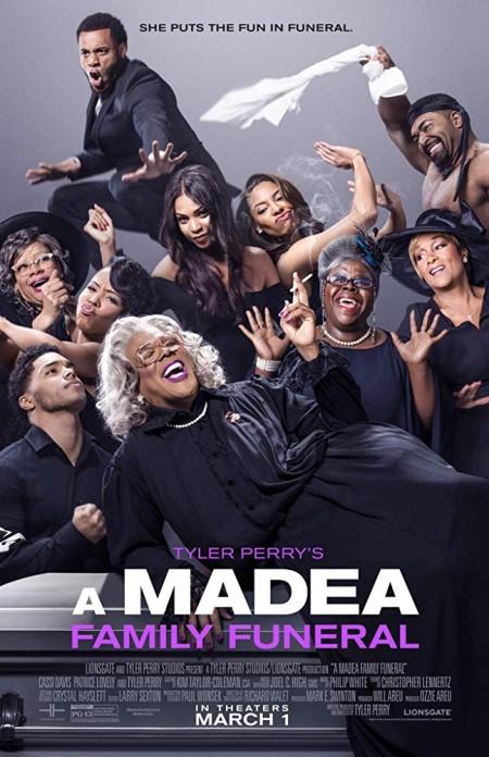 A Madea Family Funeral 2019 720p BluRay 800MB x264-GalaxyRG
