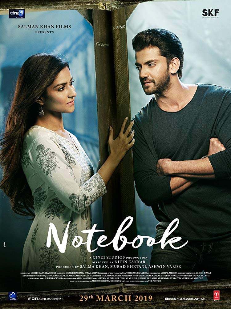 Notebook 2019 WebRip Hindi 720p x264 DDP 5 1 ESub - mkvCinemas [Telly]