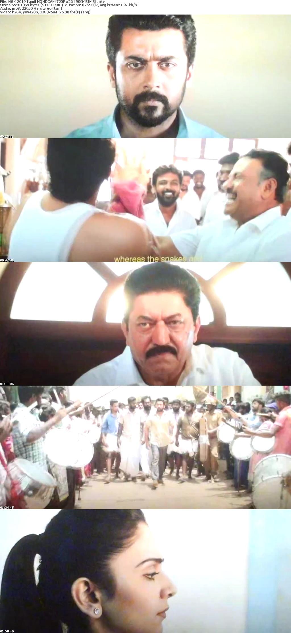NGK 2019 Tamil HQHDCAM 720P x264 900MB[MB]