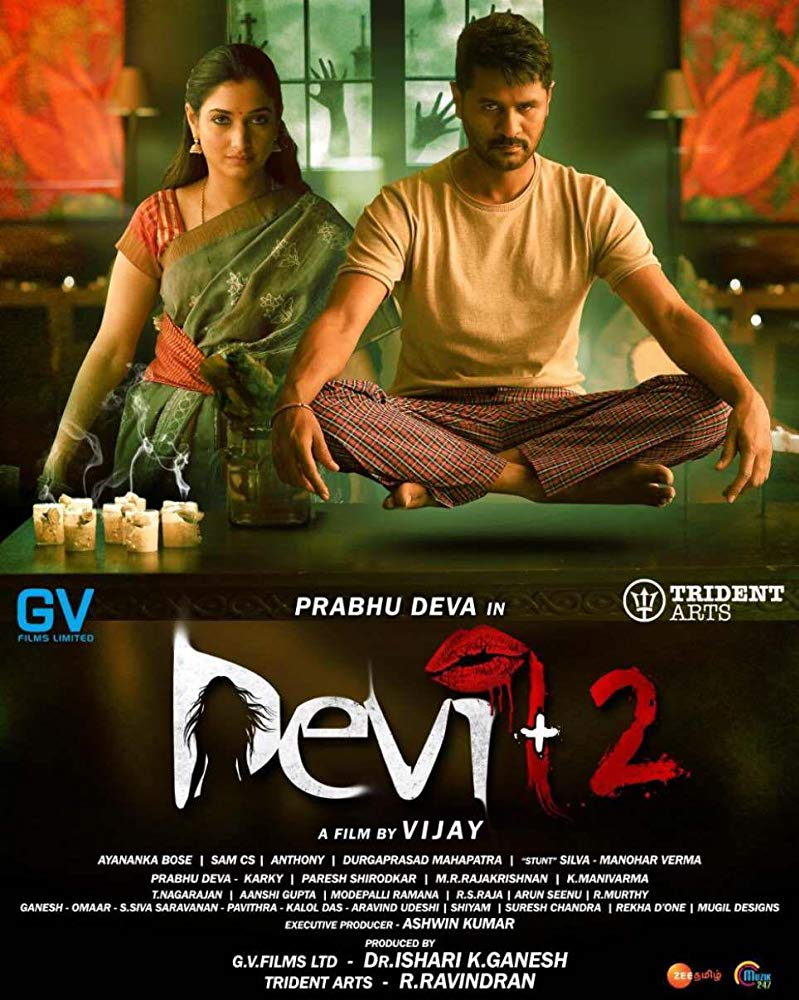 Devi 2 2019 Tamil HQ PreDVDRip - x264 - 700MB - Original Audio
