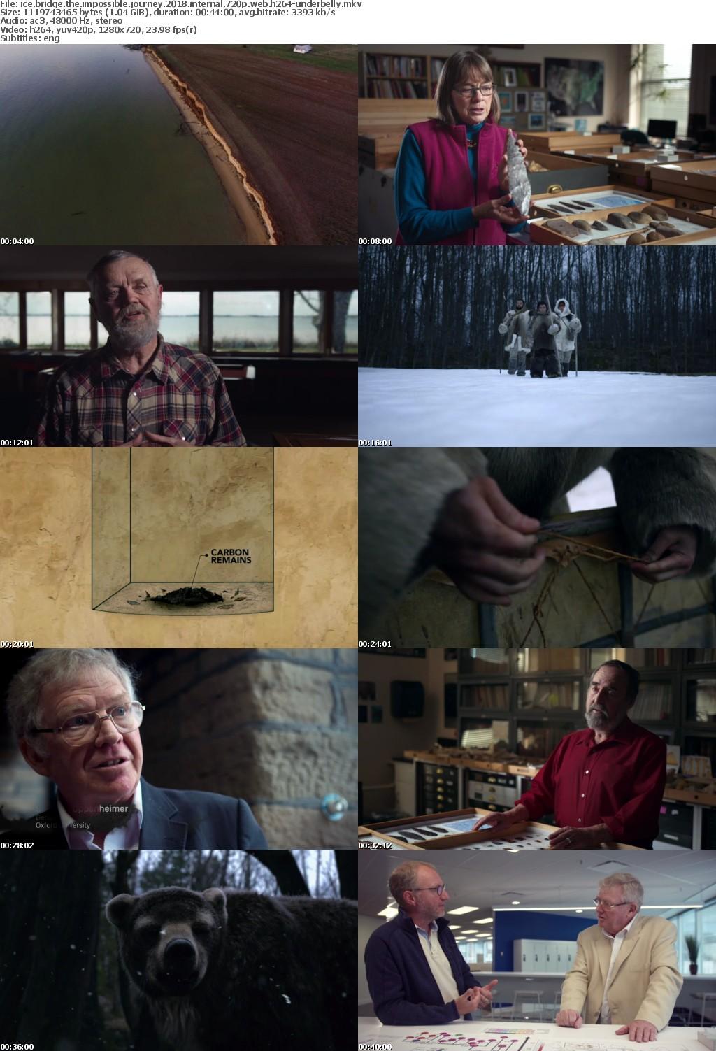 Ice Bridge The Impossible Journey 2018 INTERNAL 720p WEB H264-UNDERBELLY