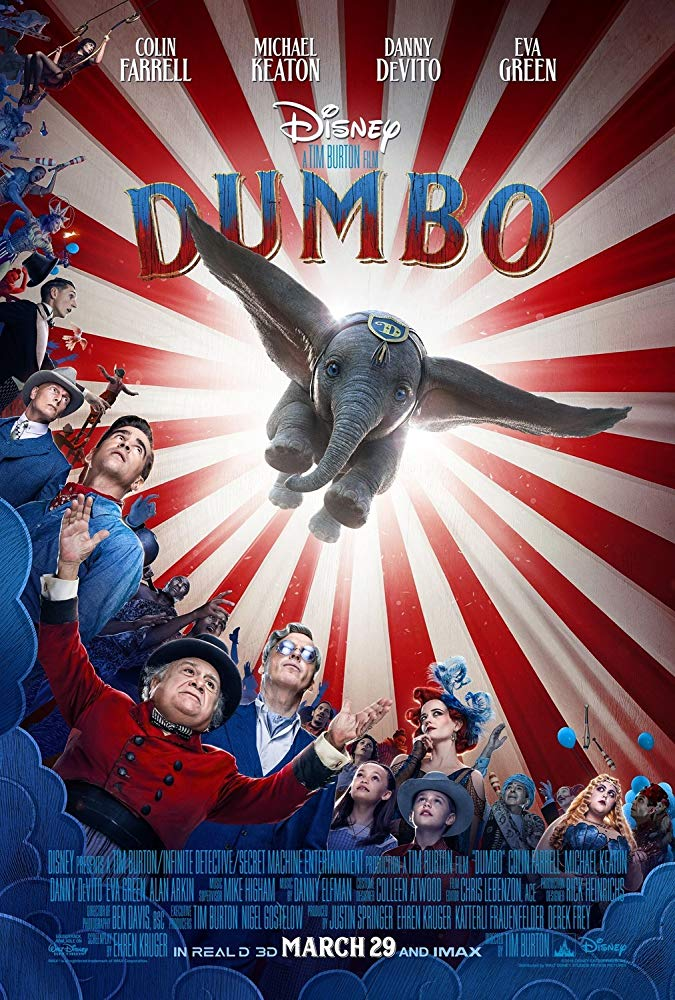 Dumbo 2019 720p BluRay 800MB x264-GalaxyRG