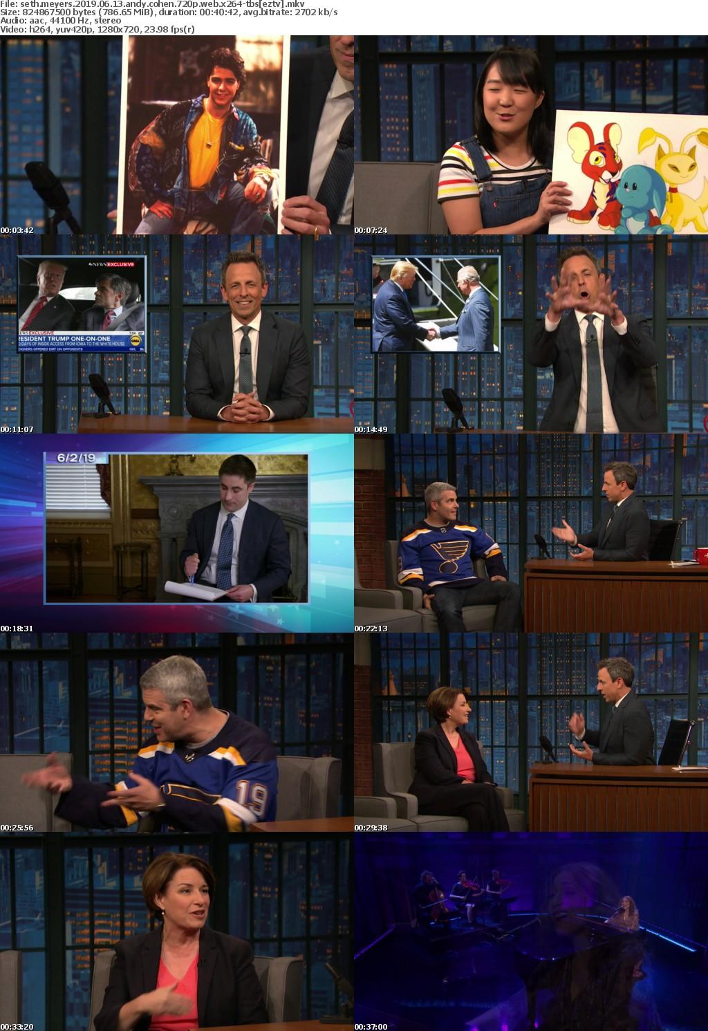 Seth Meyers 2019 06 13 Andy Cohen 720p WEB x264-TBS