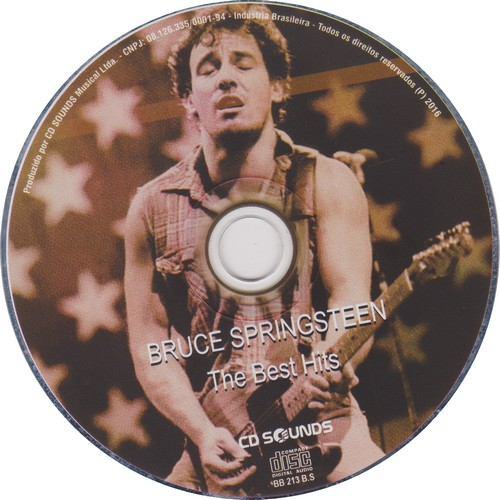 Bruce Springsteen - The Best Hits - The Singles (2016) [Mp3 128 kbps]