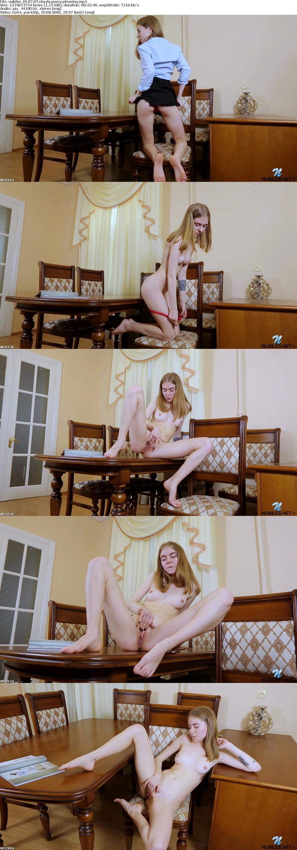Nubiles 19 07 07 Shayla Pussy Pleasing XXX 1080p MP4-KTR