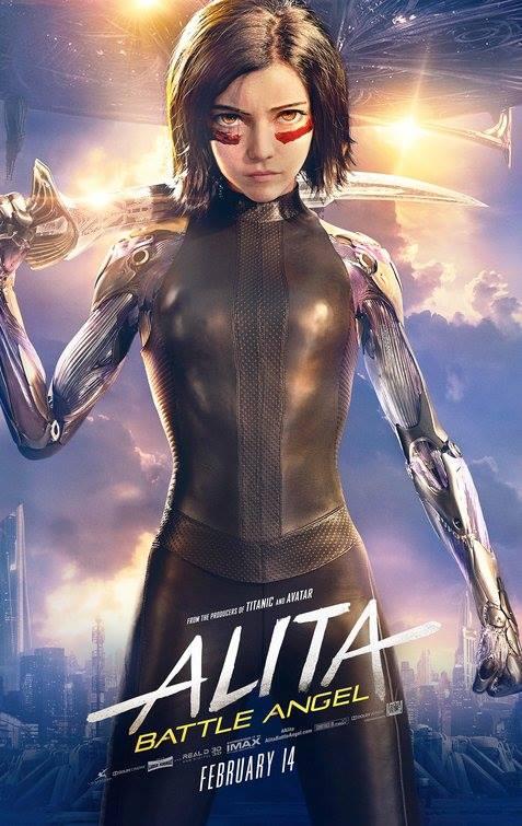 Alita-Battle Angel 2019 720p WEBRip x264 DD5 1 [Hindi + English] ESUBS - MoviePirate [Telly]