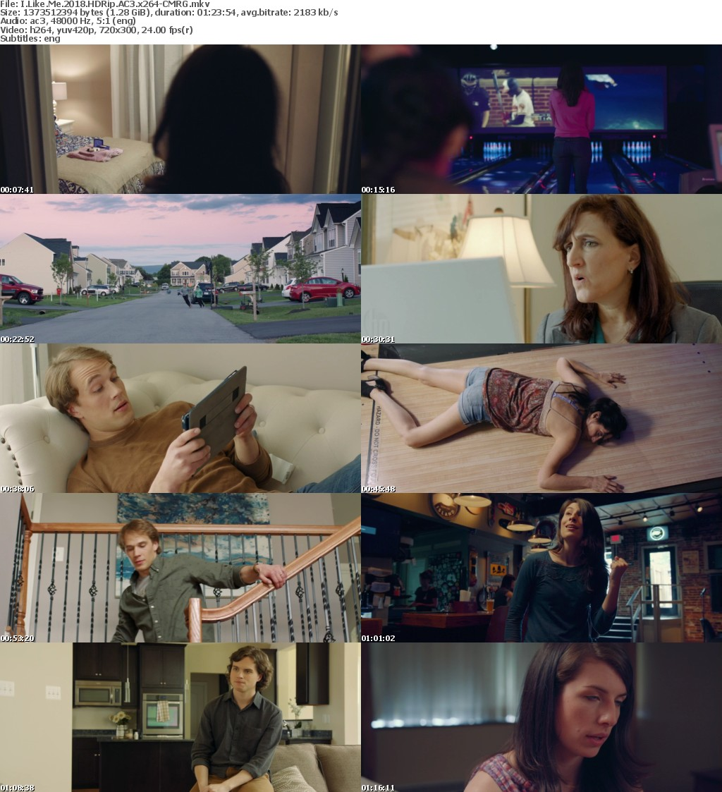I Like Me (2018) HDRip AC3 x264 CMRG