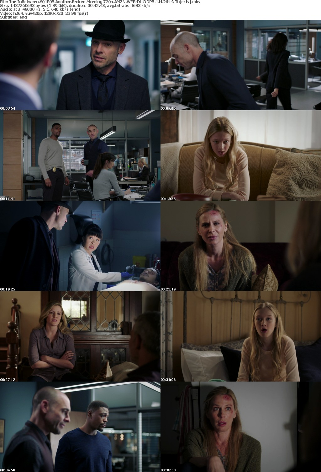 The InBetween S01E05 Another Broken Morning 720p AMZN WEB DL DDP5 1 H 264 NTb