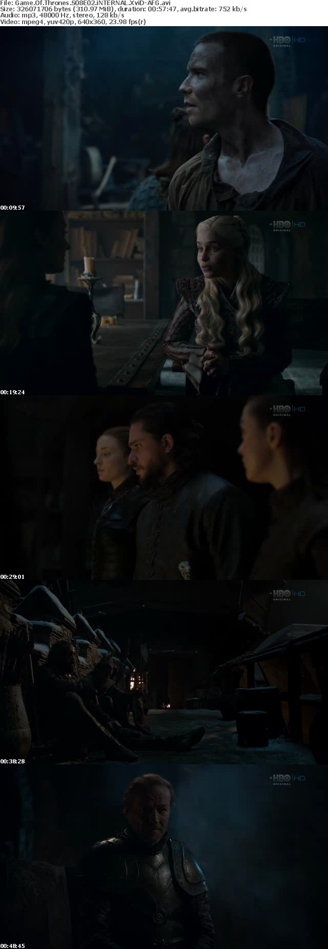 Game Of Thrones S08E02 iNTERNAL XviD-AFG