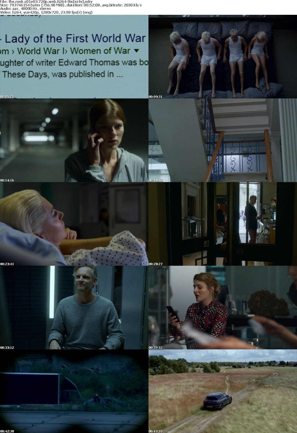 The Rook S01E03 720p WEB h264 TBS