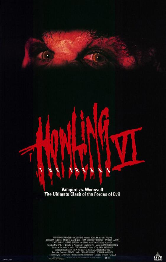 Howling VI The Freaks 1991 BRRip XviD MP3-XVID