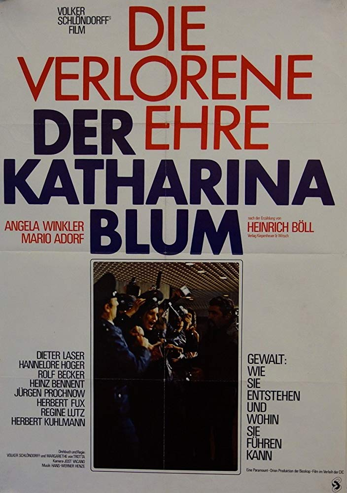 The Lost Honor of Katharina Blum 1975 REMASTERED 720p BluRay x264-USURY