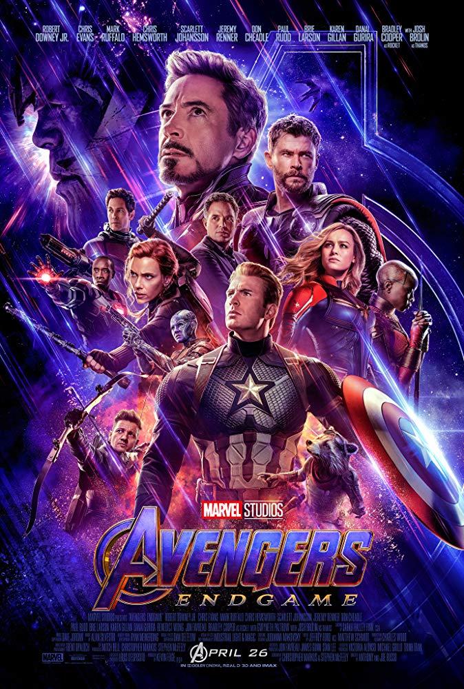Avengers Endgame (2019) HDRip 720p [Hindi (Clean) + English] Dual-Audio x264