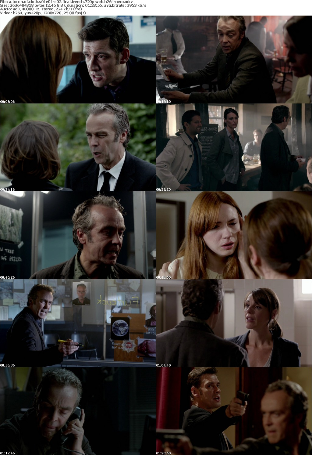 A Touch of Cloth S01-S03 FRENCH 720p WEB H264-NERO
