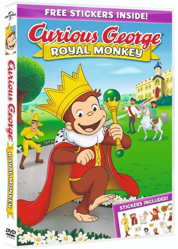 Curious George Royal Monkey 2019 WEB-DL x264-FGT