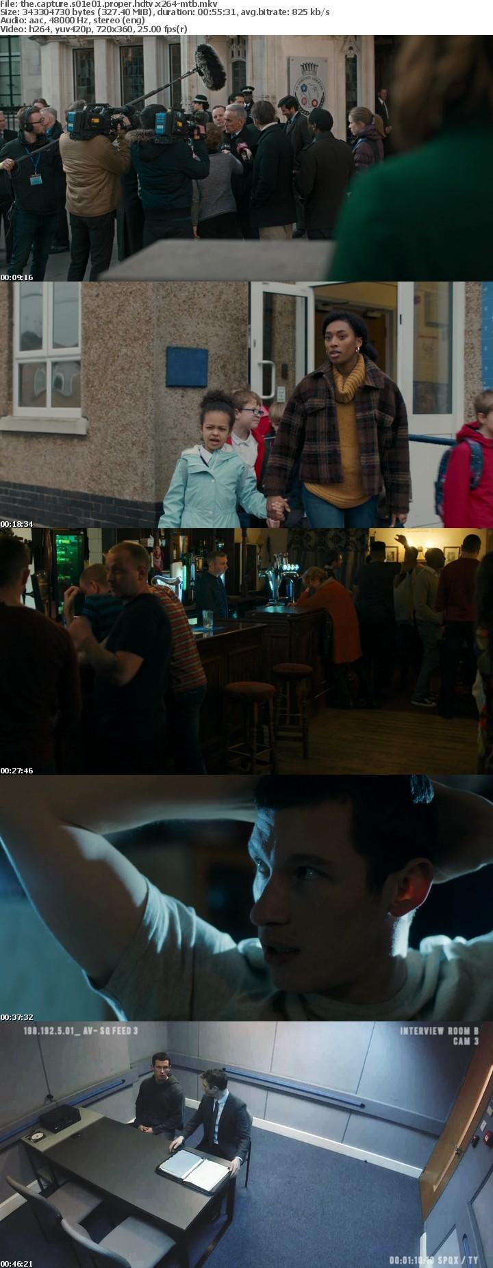 The Capture S01E01 PROPER HDTV x264-MTB