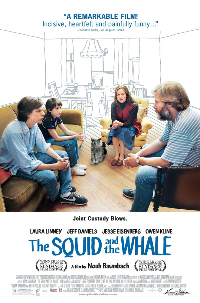 The Squid and the Whale 2005 Dvdrip x264