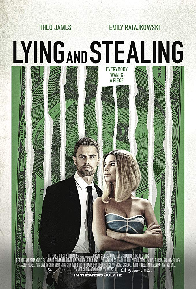 Lying and Stealing 2019 BRRip x264 AAC-SSN