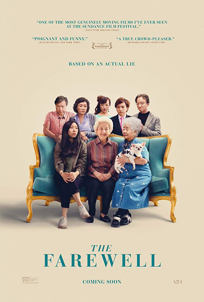 The Farewell 2019 720p BRRip XviD AC3-XVID
