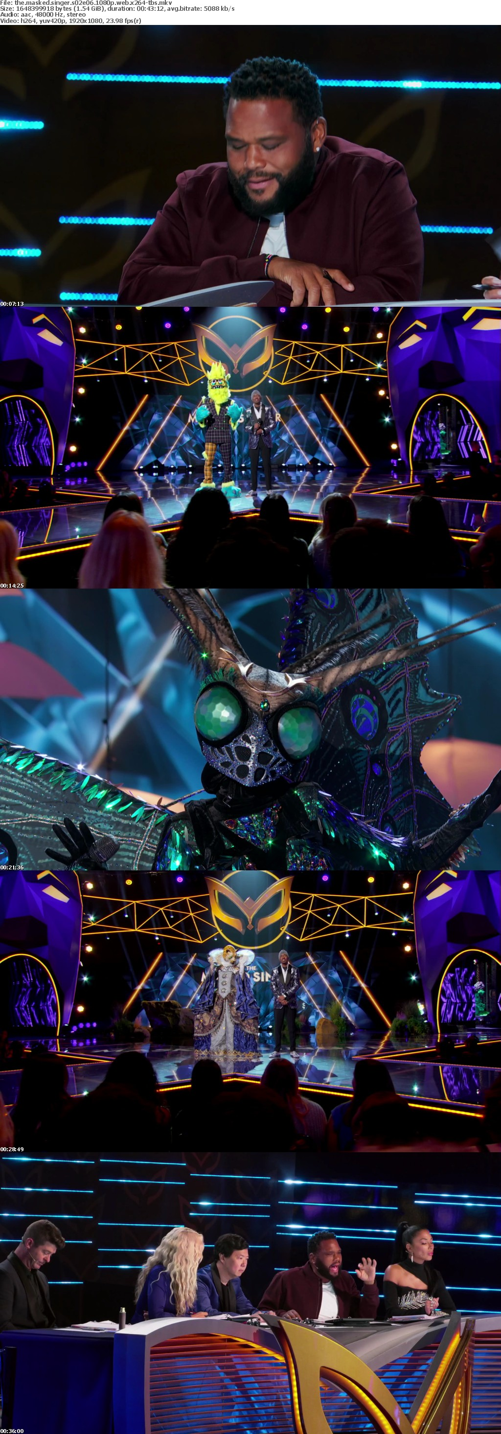 The Masked Singer S02E06 1080p WEB x264-TBS