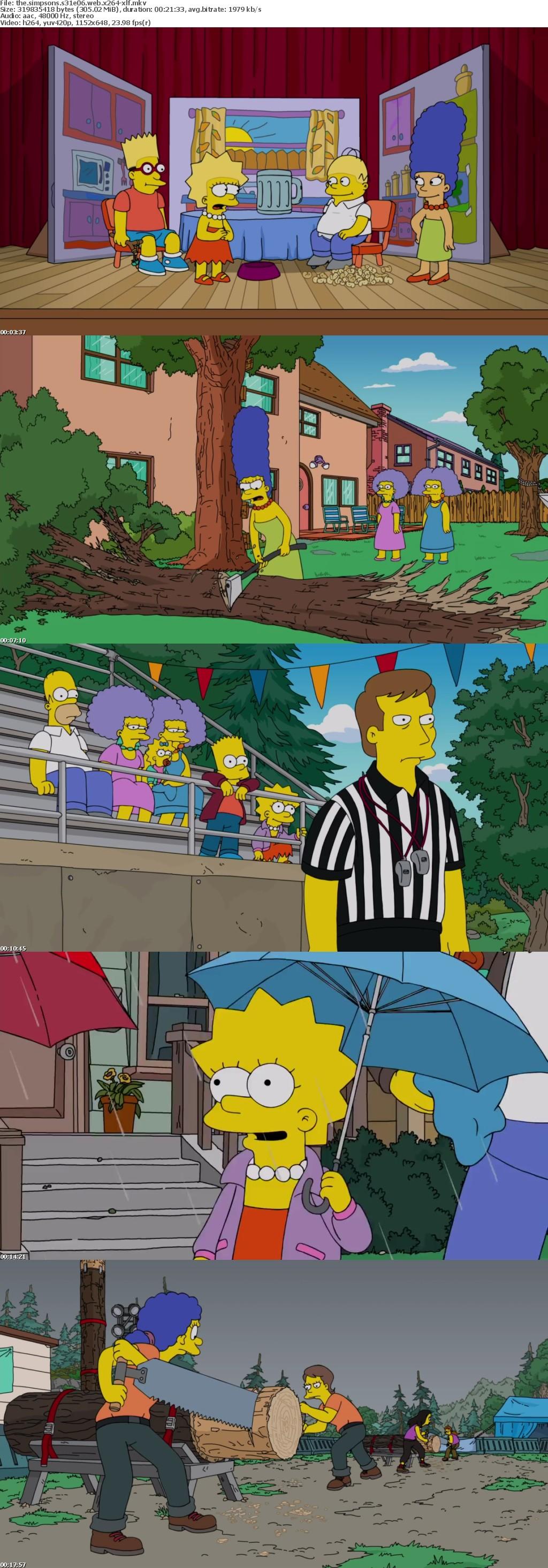 The Simpsons S31E06 WEB x264-XLF
