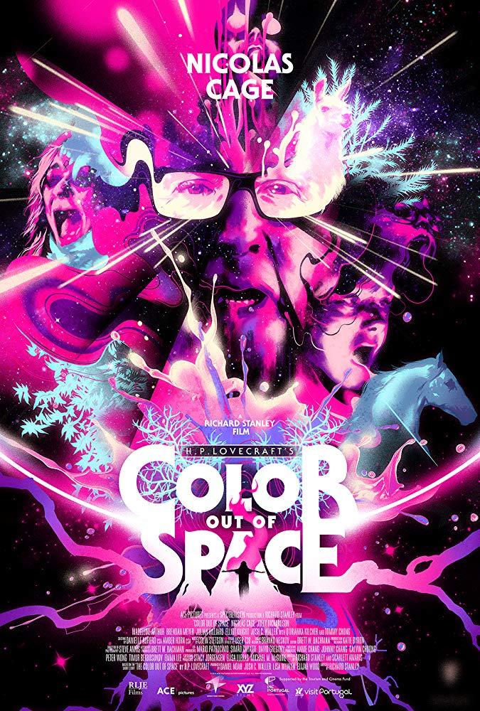 Color Out of Space 2019 WEBRip XviD MP3-FGT