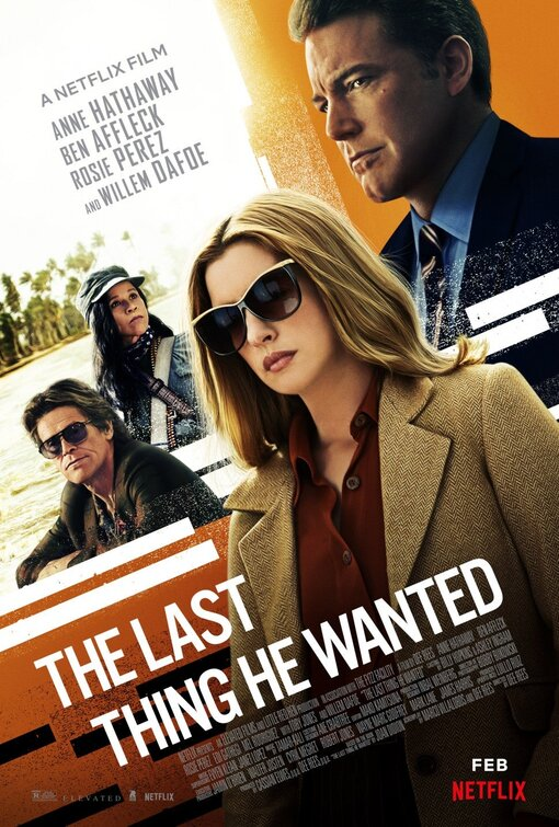 The Last Thing He Wanted 2020 WEBRip XviD MP3-FGT