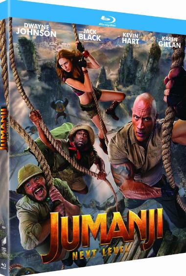 Jumanji The Next Level (2019) BRRip XviD B4ND1T69
