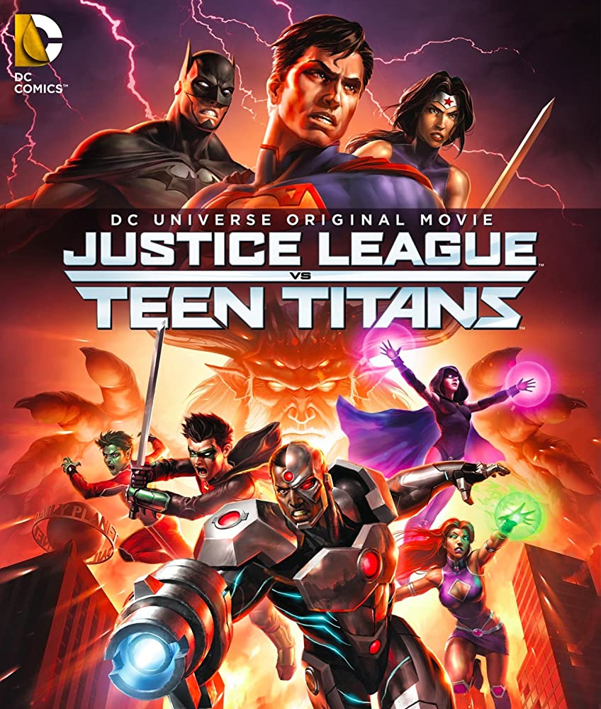 Justice League vs Teen Titans (2016) [1080p] [BluRay] [YTS MX]