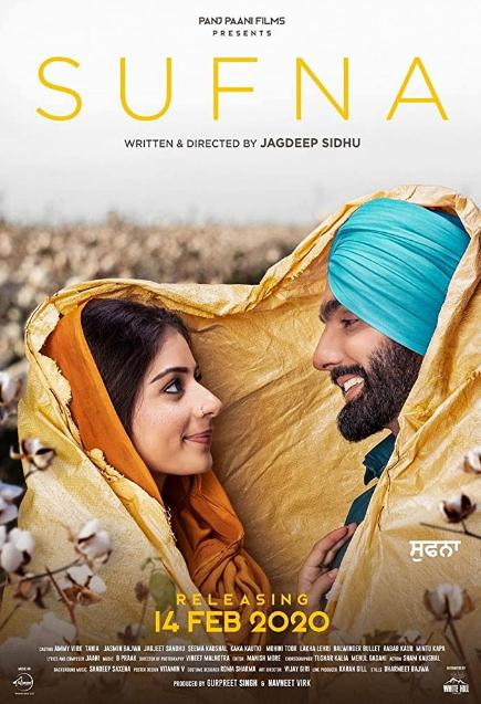 Sufna (2020) Punjabi 720p WEB-DL x264 1GB-CV