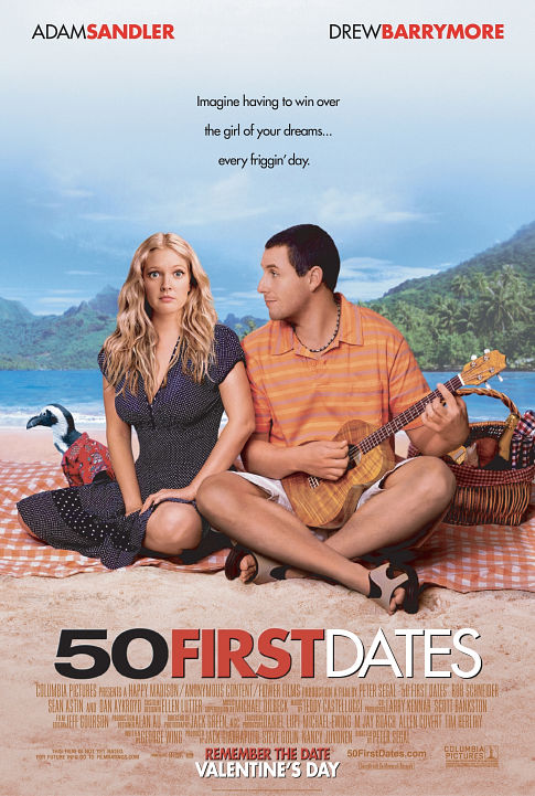 50 First Dates 2004 1080p BluRay x265-RARBG