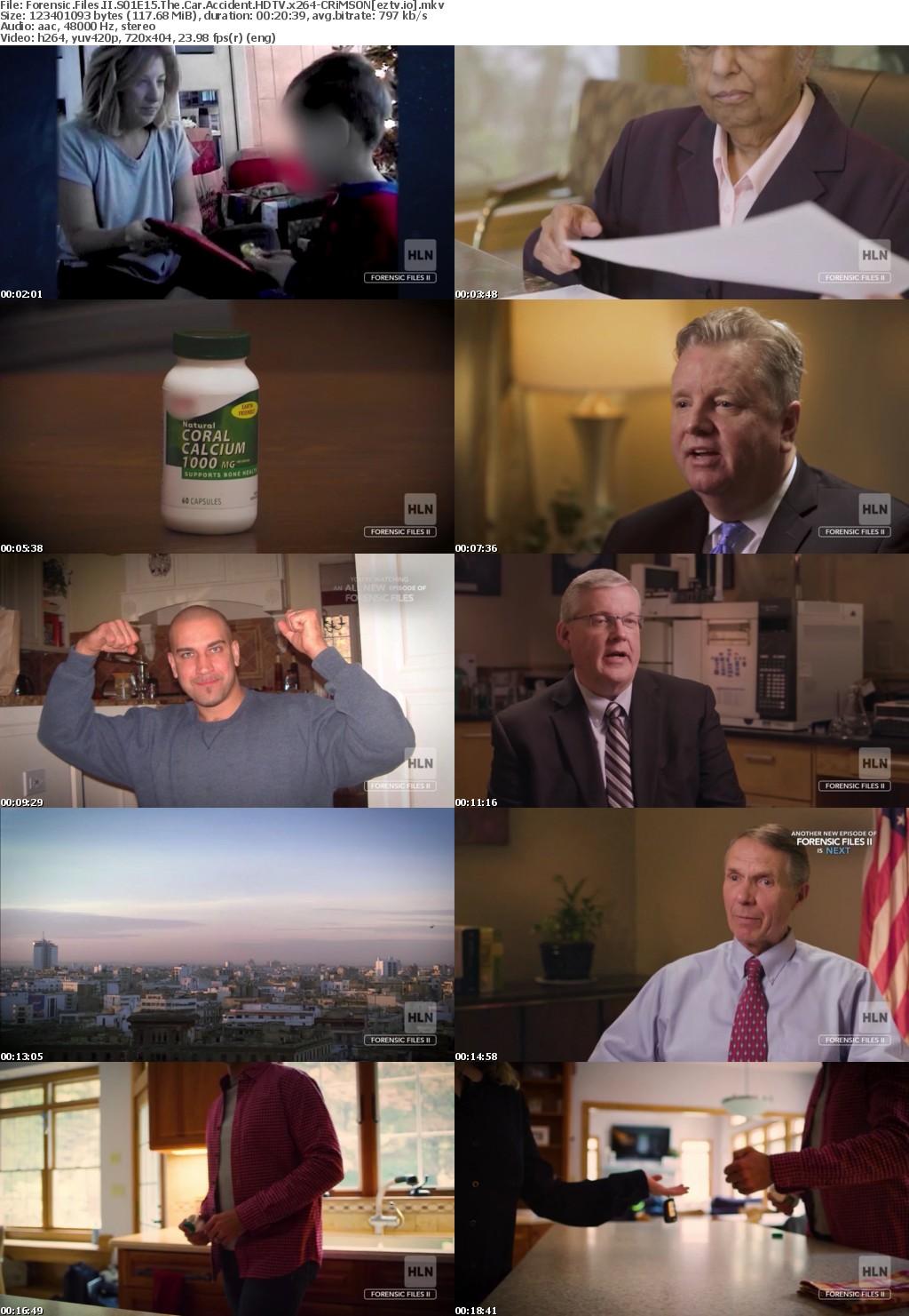 Forensic Files II S01E15 The Car Accident HDTV x264-CRiMSON