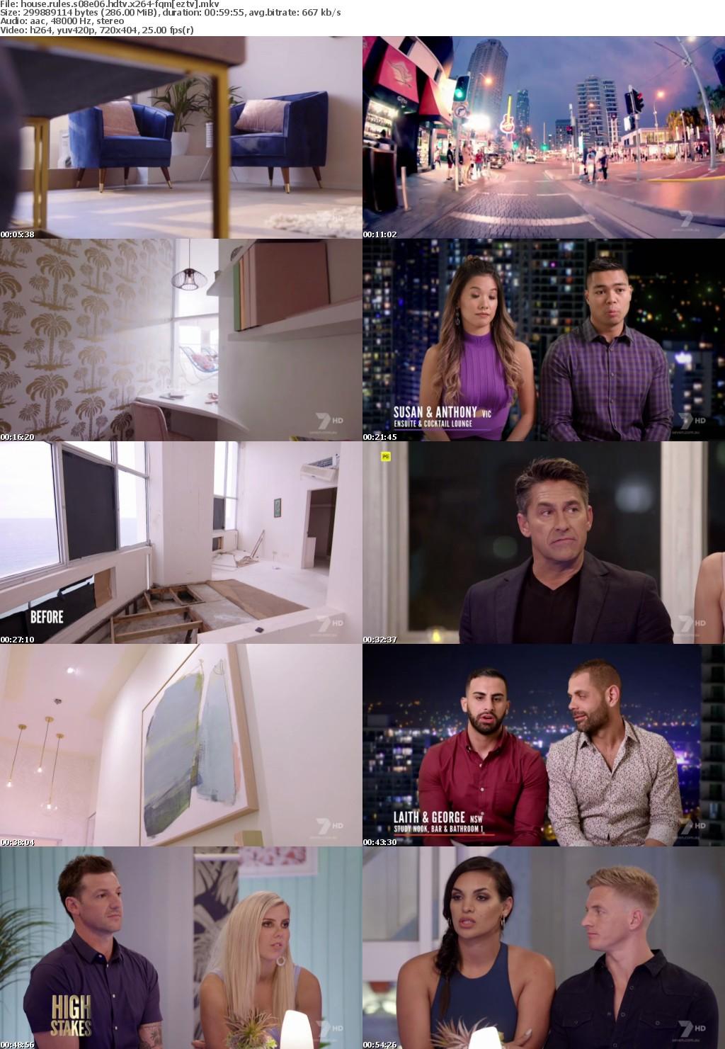 House Rules S08E06 HDTV x264-FQM