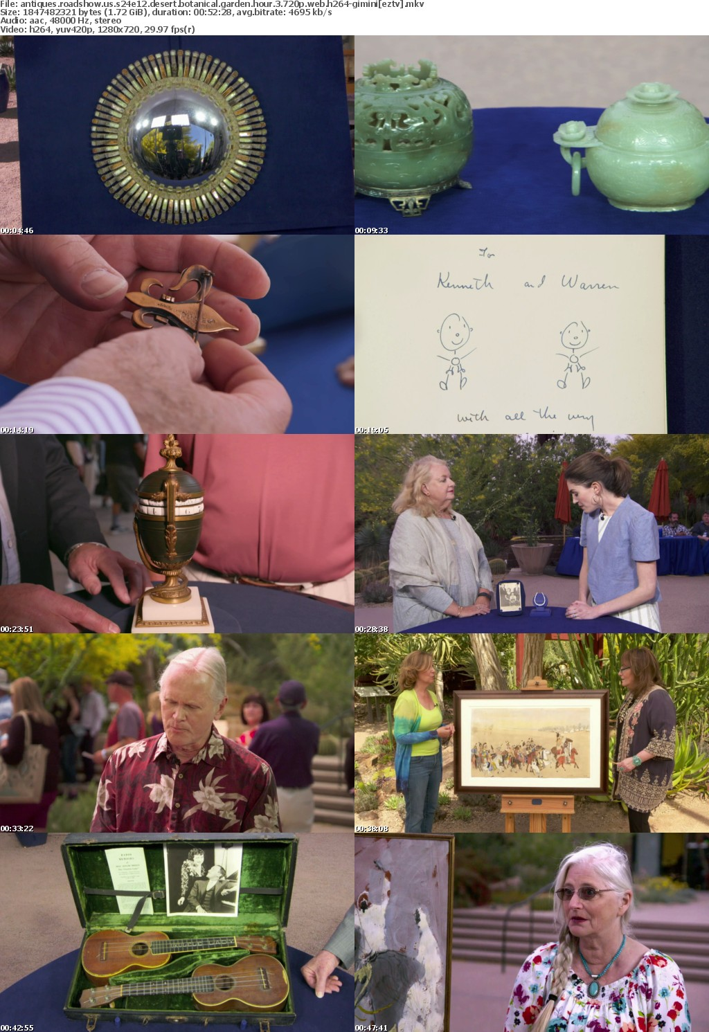 Antiques Roadshow US S24E12 Desert Botanical Garden Hour 3 720p WEB H264-GIMINI