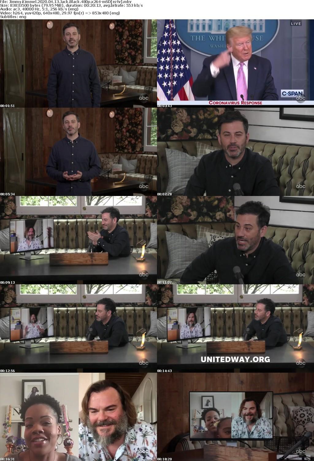 Jimmy Kimmel 2020 04 13 Jack Black 480p x264-mSD