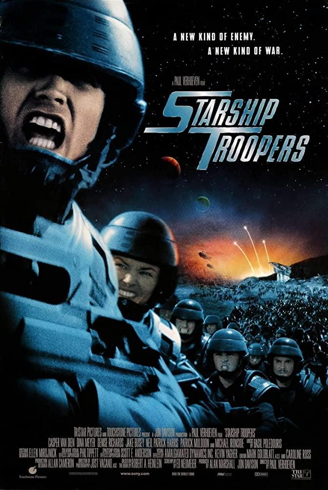 Starship Troopers 1997 1080p BluRay x265-RARBG