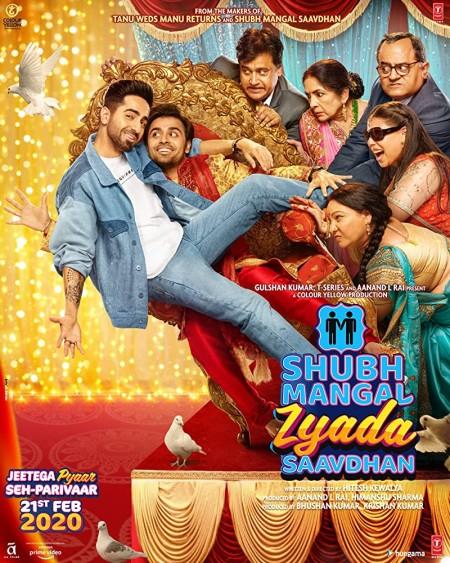 Shubh Mangal Zyada Saavdhan (2020) Hindi 720p AMZN WEB-DL x264 AAC ESub 1GB ...