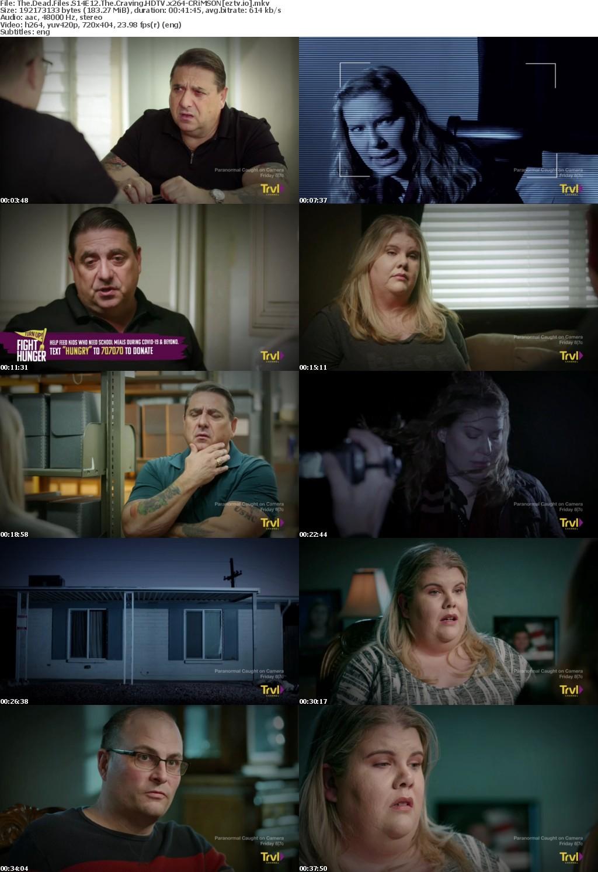 The Dead Files S14E12 The Craving HDTV x264-CRiMSON