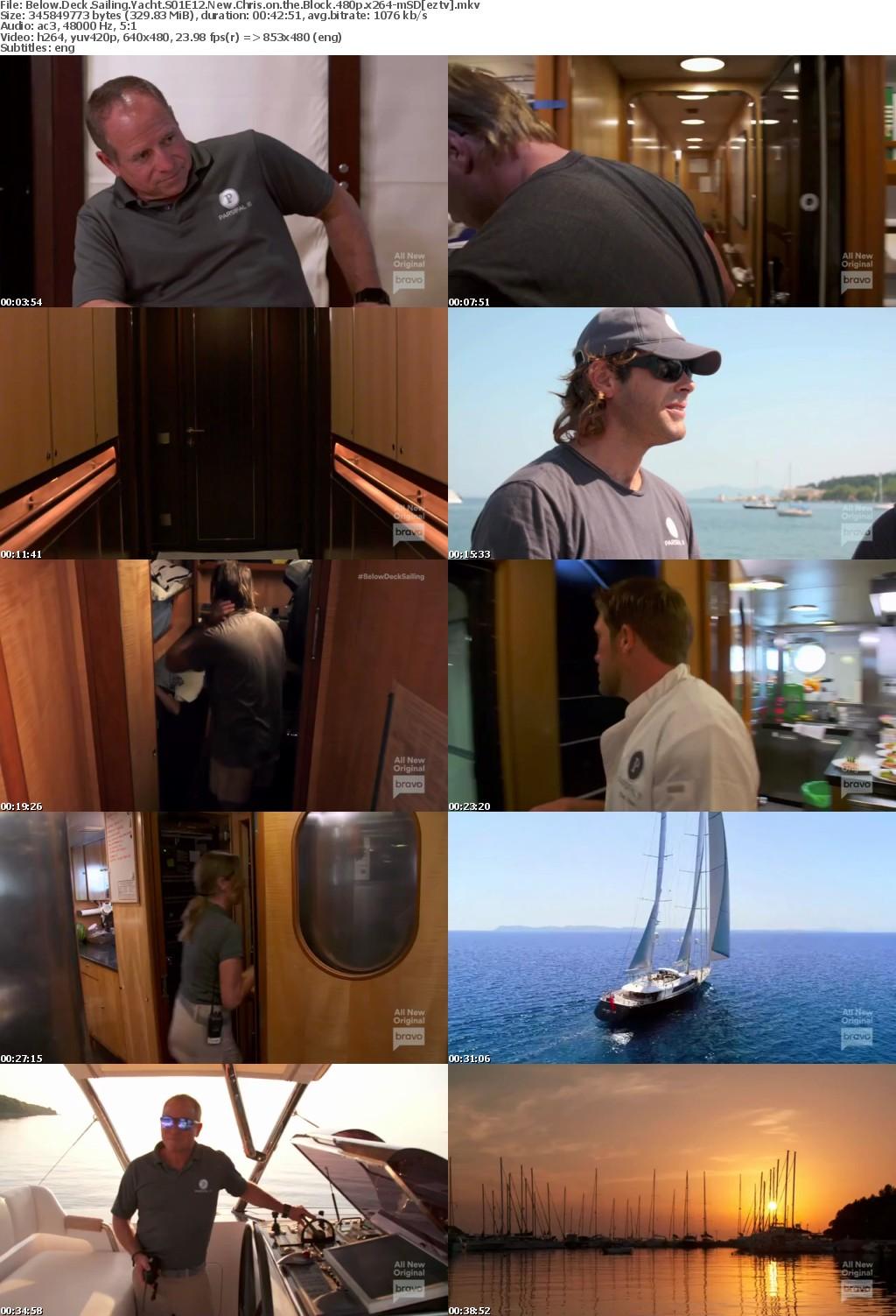 Below Deck Sailing Yacht S01E12 New Chris on the Block 480p x264-mSD