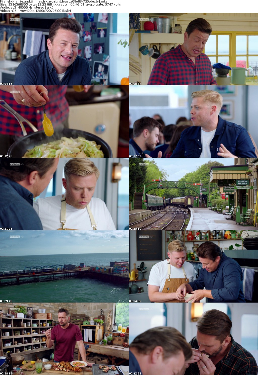 Jamie And Jimmys Friday Night Feast S08E03 720p HDTV x264-EHD