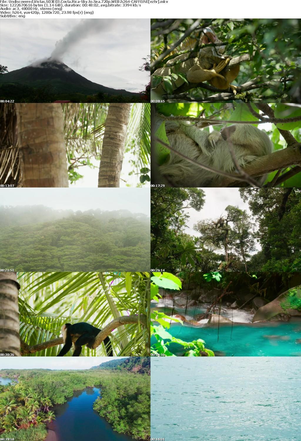 Undiscovered Vistas S03E03 Costa Rica-Sky to Sea 720p WEB h264-CAFFEiNE
